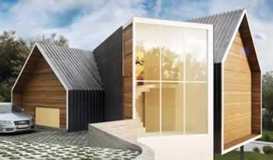 Casa Sustentável em Gramado